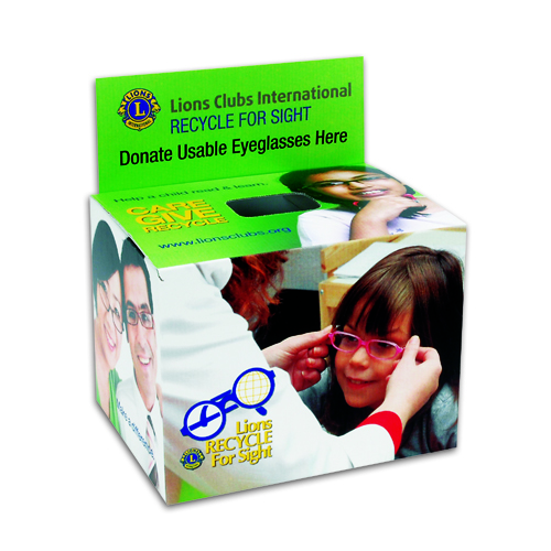 d2250ef59b6 lions eyeglass recycle box To donate glasses ...
