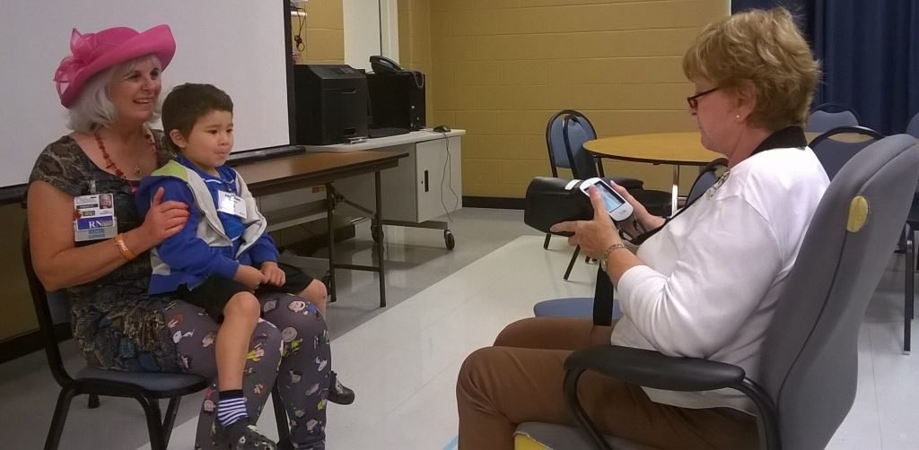 Lewisville lions conduct vision screening at LISD